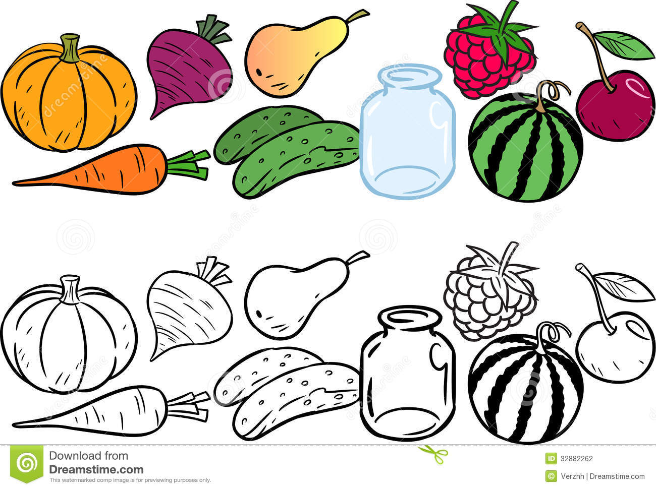 1300x972 Trend Pictures Of Fruit And Vegetables To Colour Coloring With