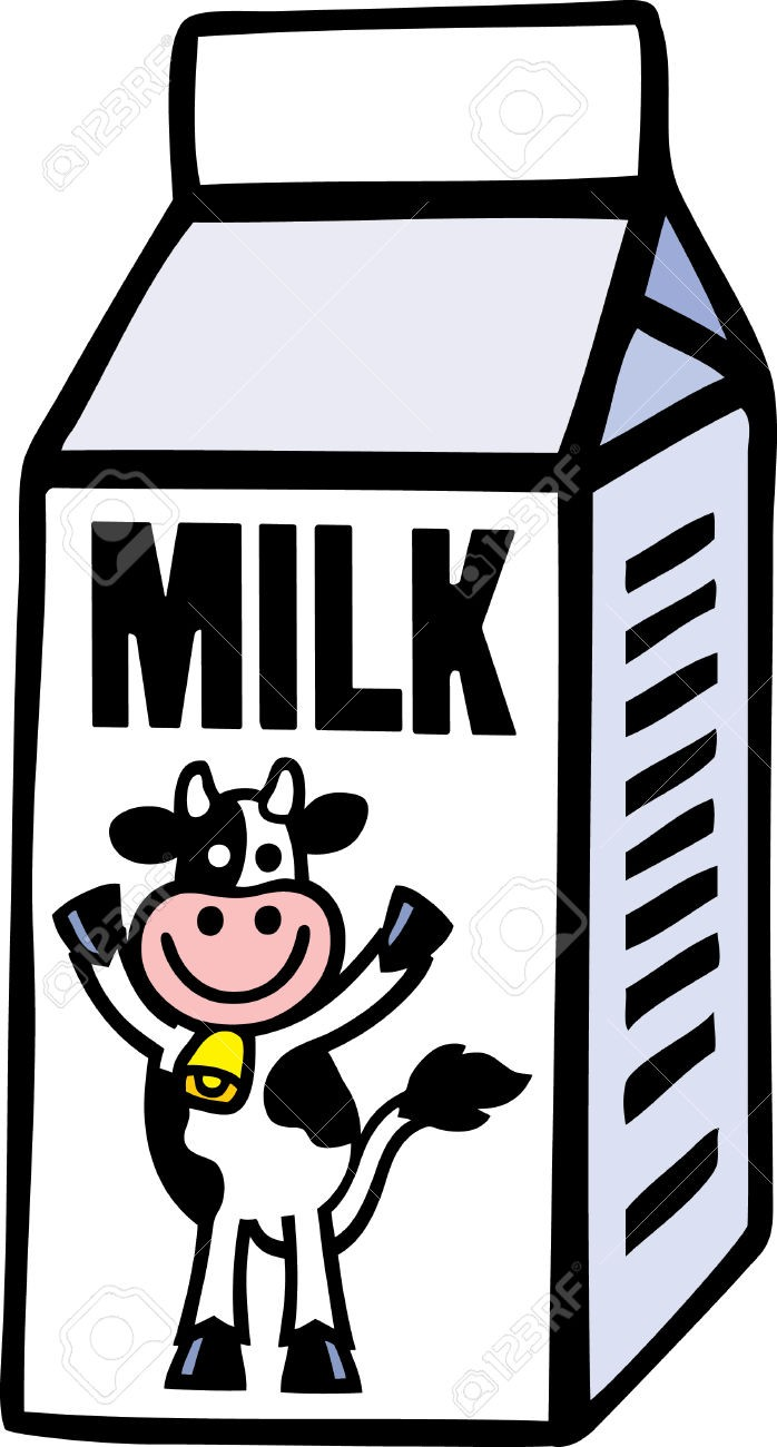 698x1300 Milk Clipart Milk Carton Design Stock Vector Illustration And