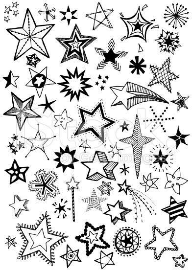 392x556 Quirky And Fun Hand Drawn Star Vector Shapes Hpc Hopekids