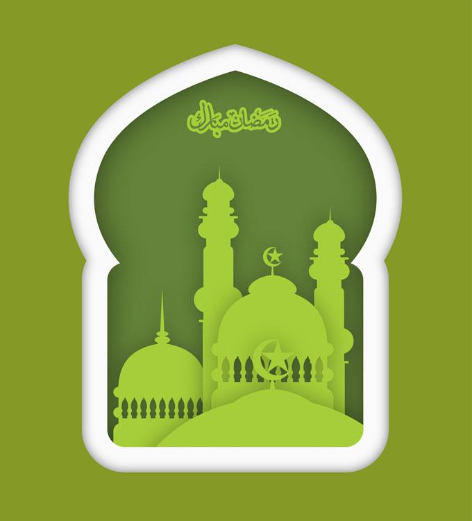 680x751 Ramadan Vector Free Download Stock Vector