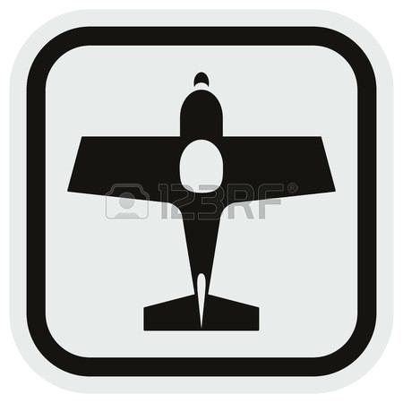 450x450 Airplane Picture Frame Stock Vector Flight Attendant Photo