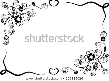 450x335 Flower Border Black And White Vector Design Flowers Border Black