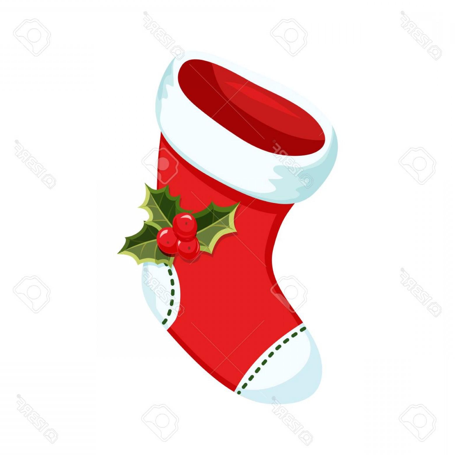 1560x1560 Photostock Vector Christmas Stocking Christmas Holiday Object