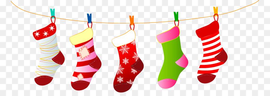 900x320 Santa Claus Christmas Stocking Sock Christmas Decoration