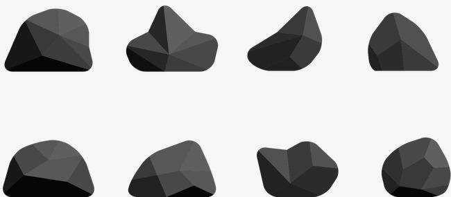 650x285 Vector Black Stone, Black Vector, Stone Vector, Black Stone Png