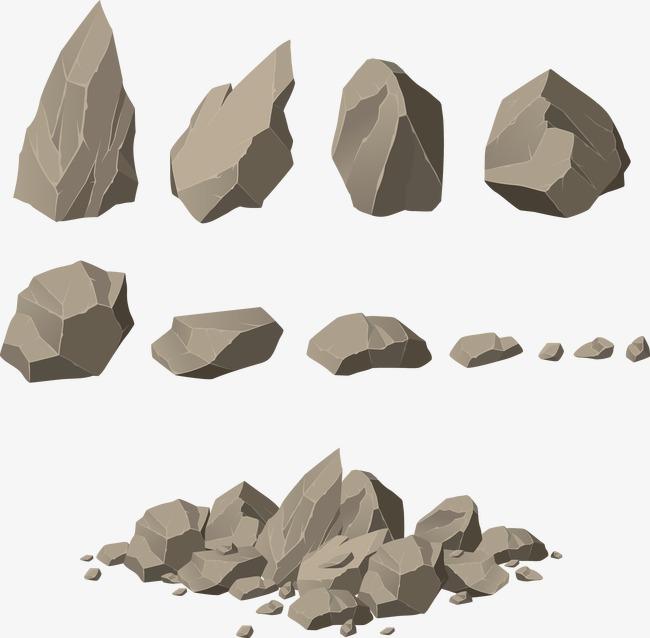 650x638 Landscape Stone Vector Image, Landscape Vector, Stone Vector