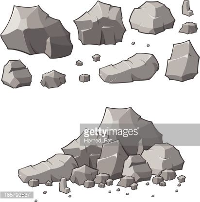 412x416 Stone Vector Free (8 Images)