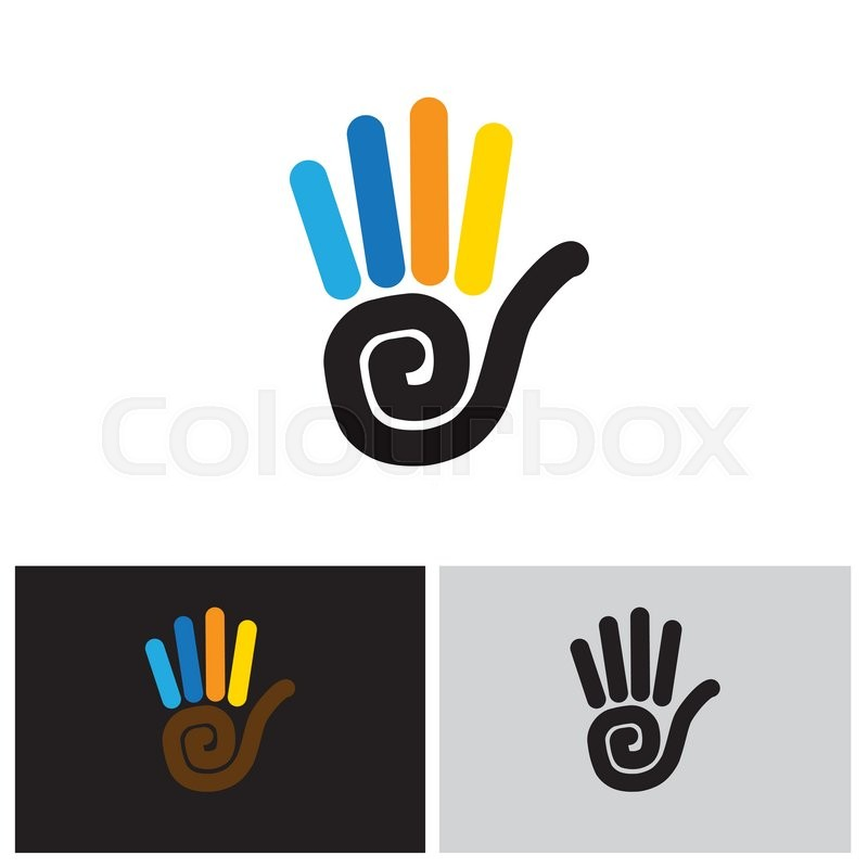 800x800 Stop Hand Sign Vector Logo Line Icon. This Also Represents