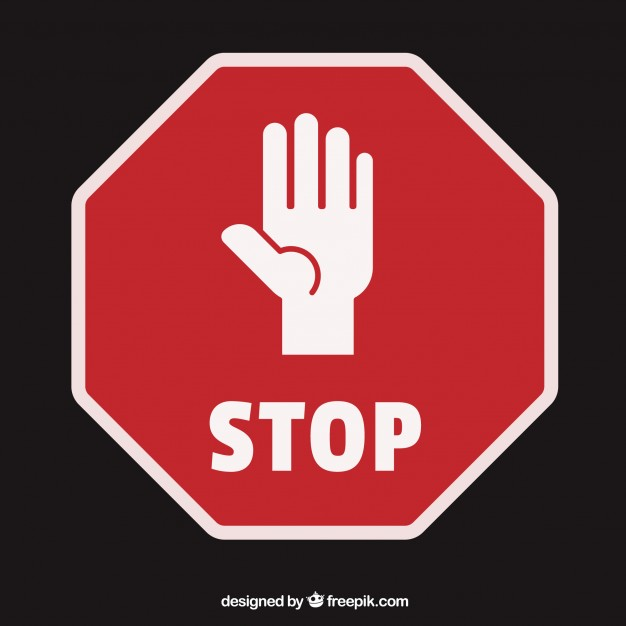 626x626 Free Stop Hand Icon 40391 Download Stop Hand Icon