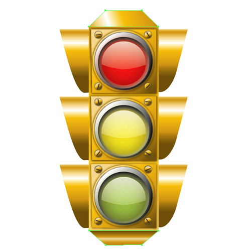 Stop Light Vector