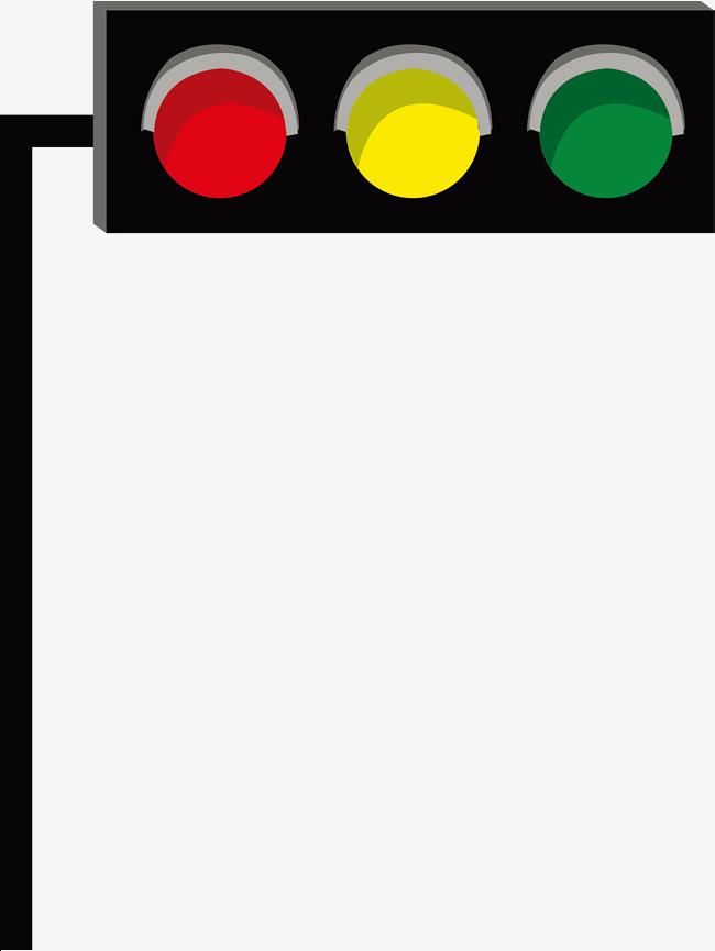 650x865 Traffic Light Vector, Light Vector, Traffic Light, Green Light
