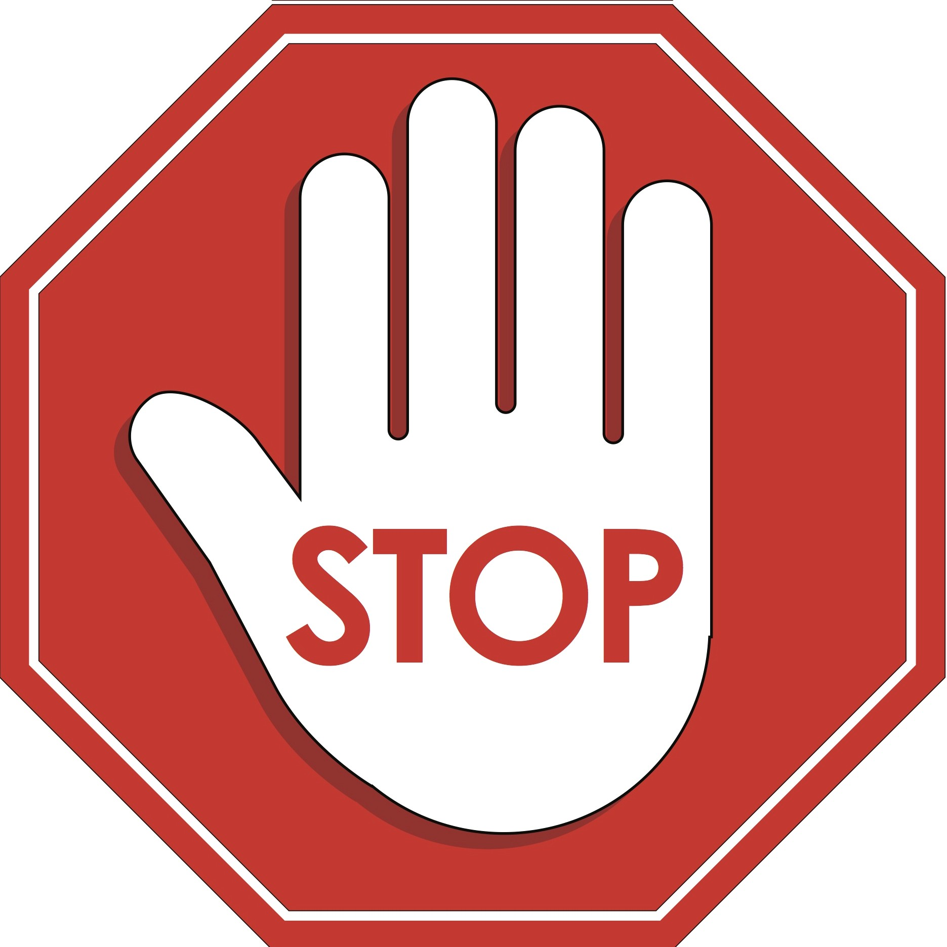The Best Free Stop Sign Vector Images Download From 50 Free Vectors