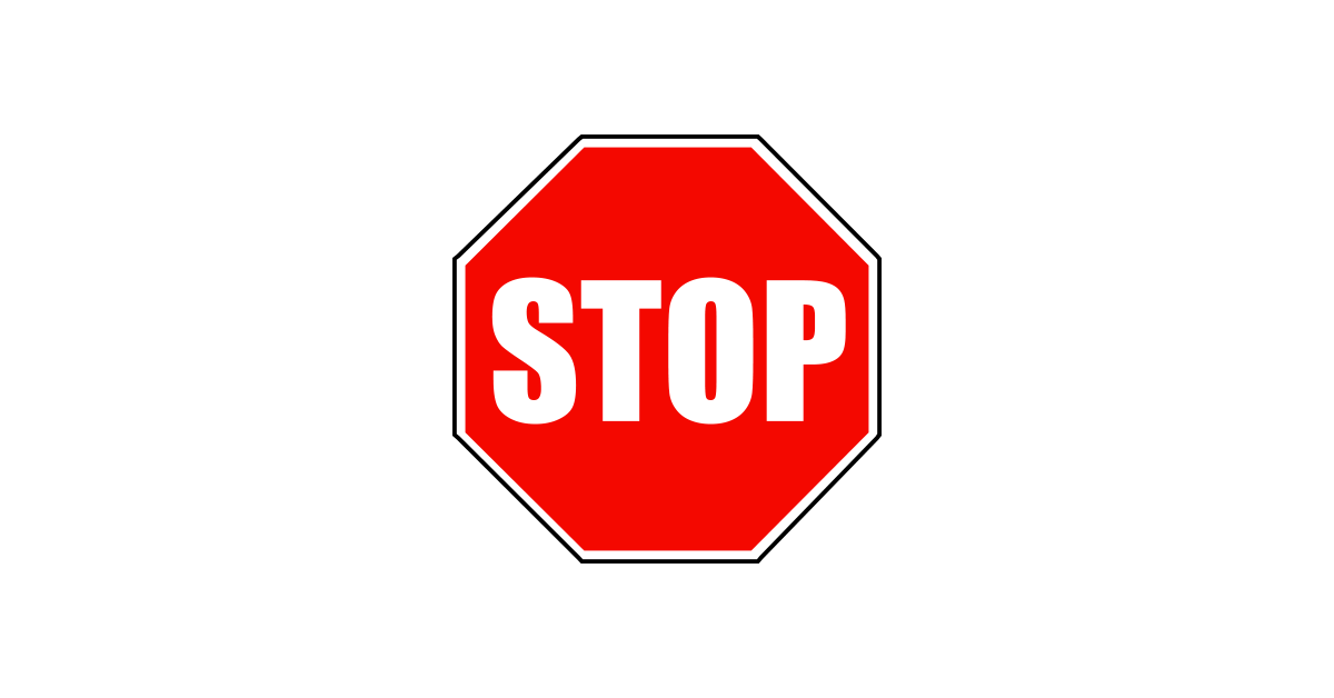 1200x628 Free Download Of Stop Sign Icon Clipart