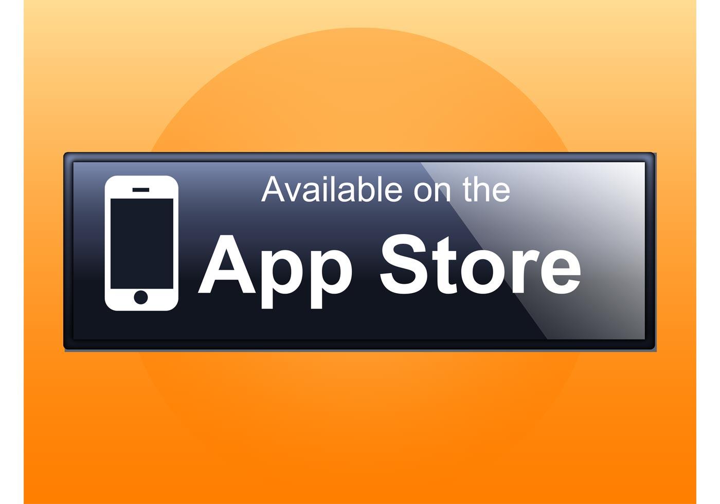 1400x980 App Store Icon Free Vector Art