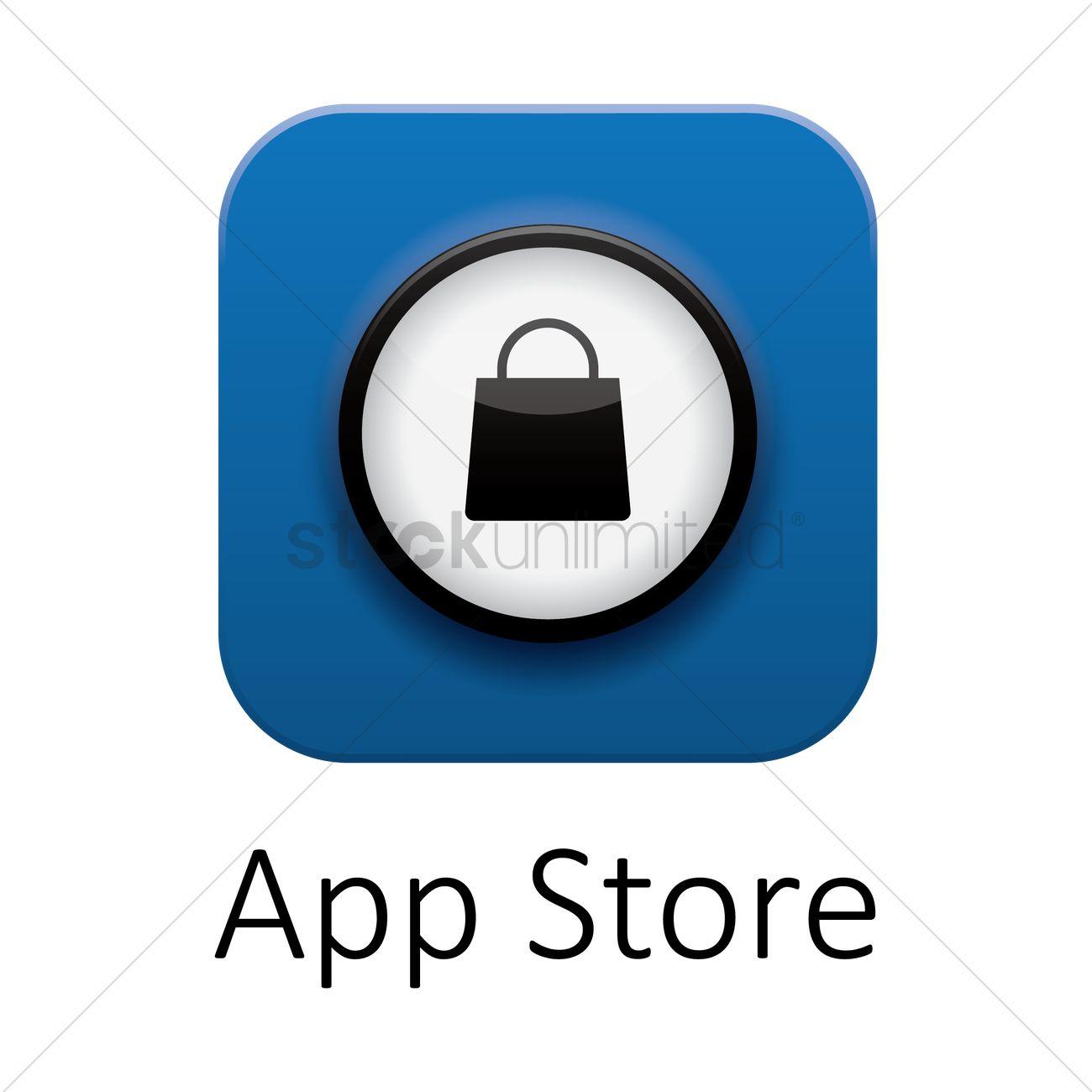 1300x1300 App Store Icon Vector Image
