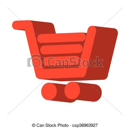 450x442 Cart Shopping Store Icon Vector Illustration Design.