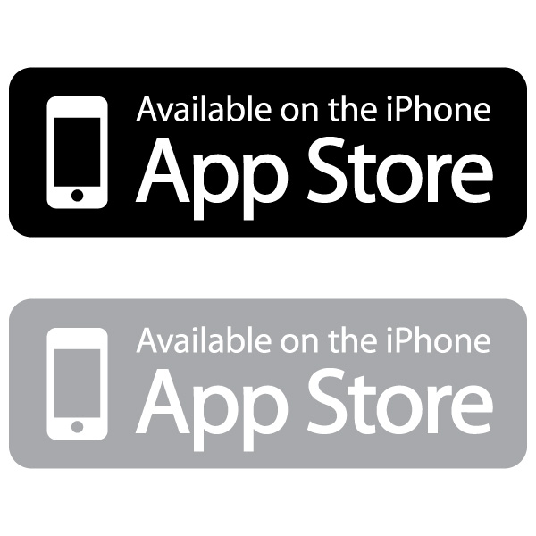 600x600 Available On The App Store Vector Logo Free Download Vector