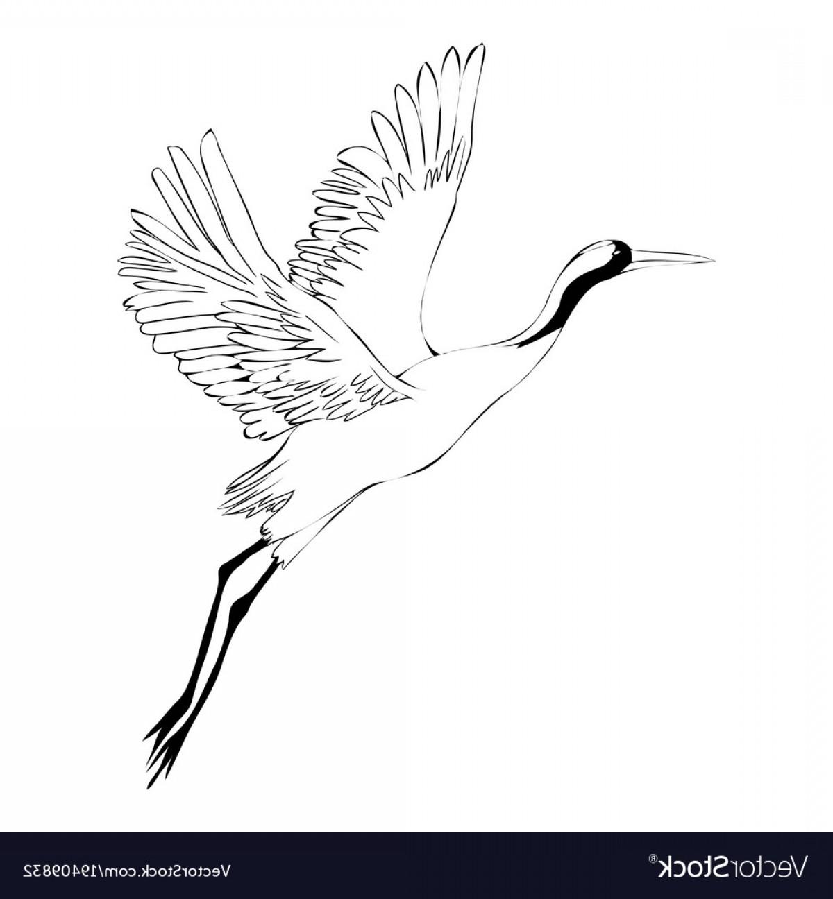 1200x1296 Watercolor Set Of Bird Crane White Stork Vector Lazttweet