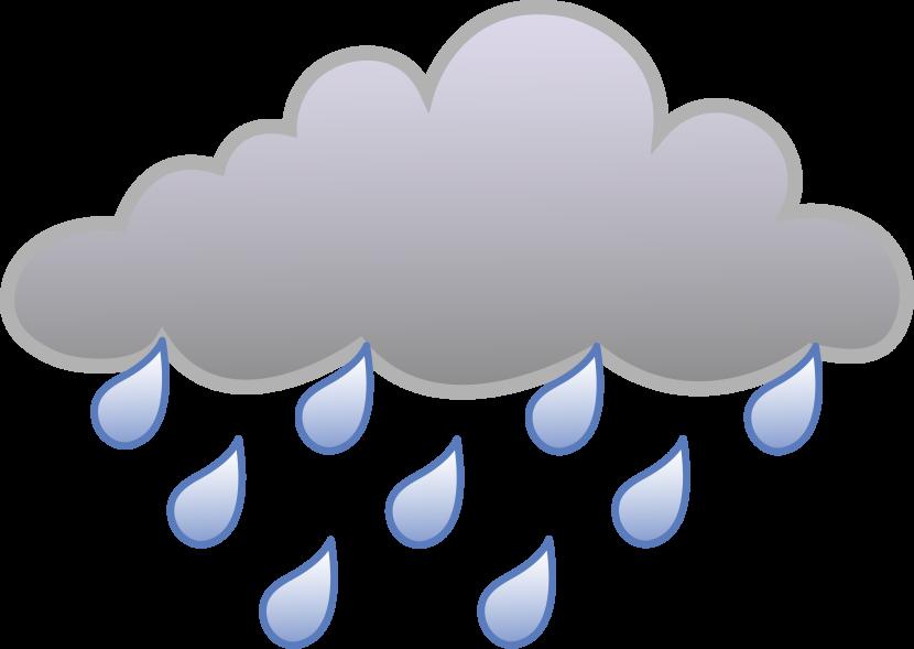 Storm Cloud Vector
