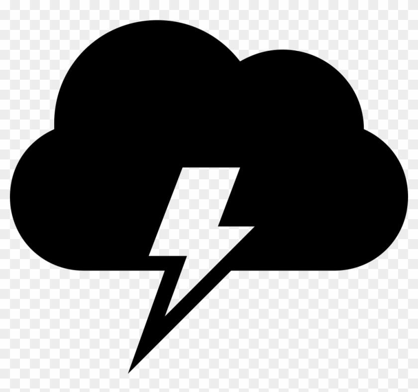 840x787 Cloud With Electrical Lightning Bolt Weather Storm