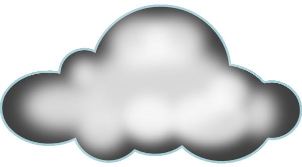 600x333 Dark Storm Cloud Clipart