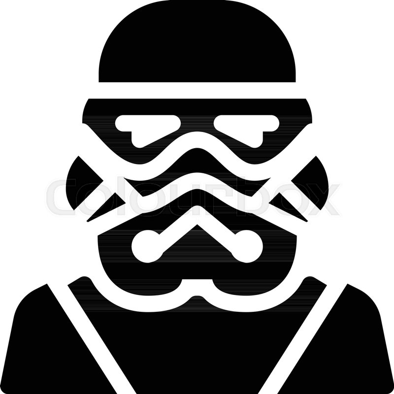 800x800 Stormtrooper Fictional Character Stock Vector Colourbox