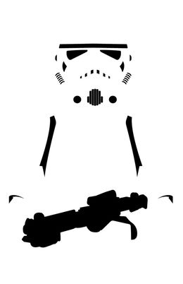 260x402 Download Vector Graphics Clipart Stormtrooper Star Wars Clip Art