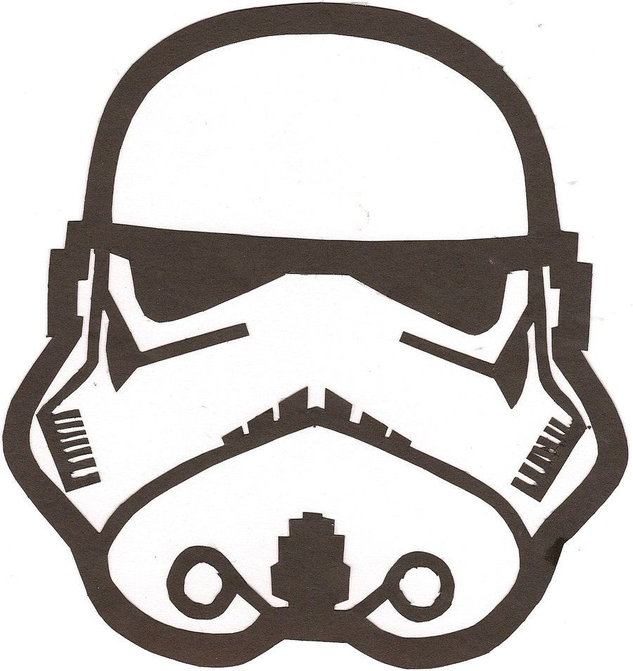 900x953 Star Wars Stormtrooper Helmet Drawing 64 Vector 9