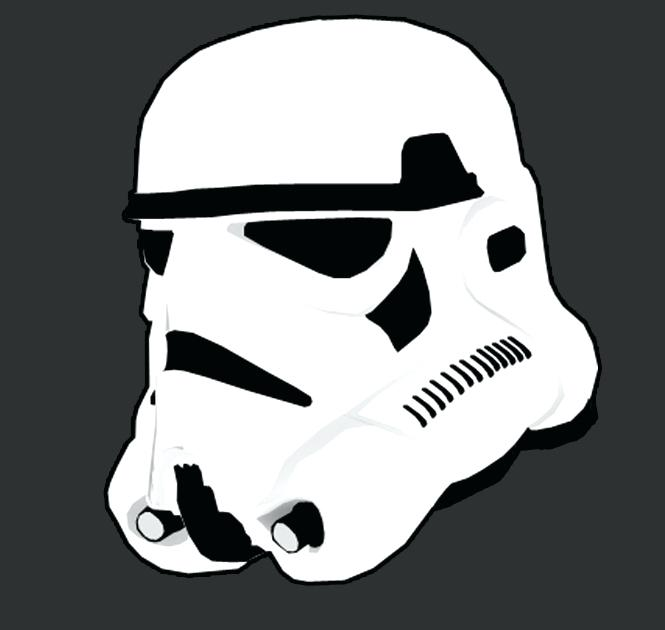 665x630 Stormtrooper Window Decal Star Wars Movies Rear Window Decal