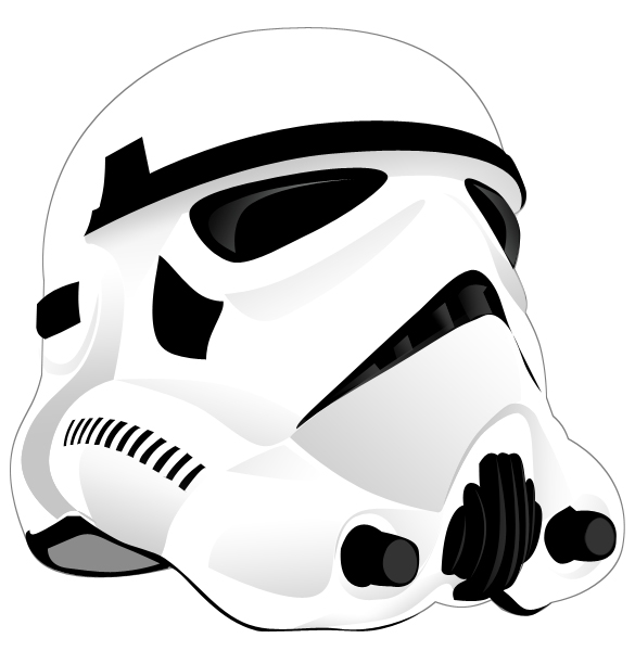 585x600 Stormtrooper By Eshima