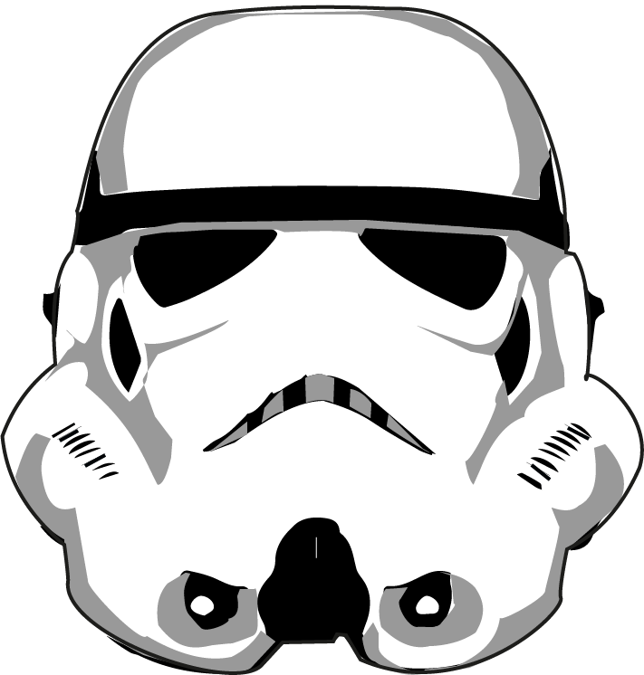 711x746 19 Stormtrooper Jpg Free Outline Huge Freebie! Download For