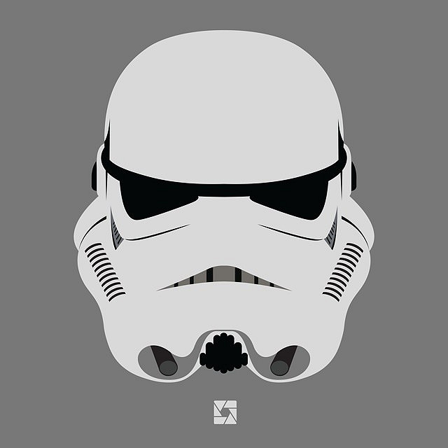 640x640 Angry Stormtrooper. (Illustration By Christopher