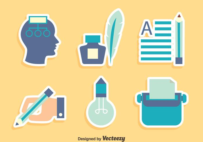 700x490 Story Telling Element Icons Vector