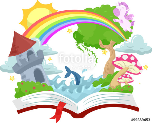 500x404 Book Open Story Book Fantasy Kingdom Stock Image And Royalty Free