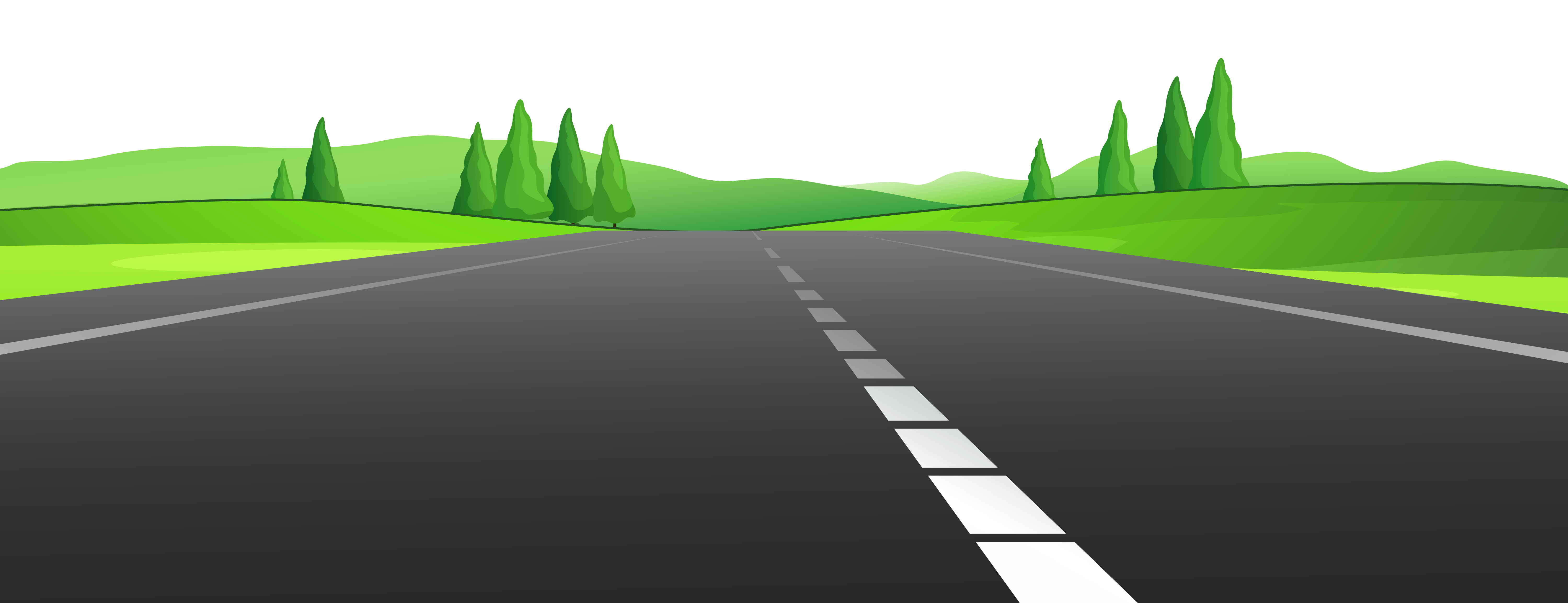 Straight Road Vector at GetDrawings | Free download