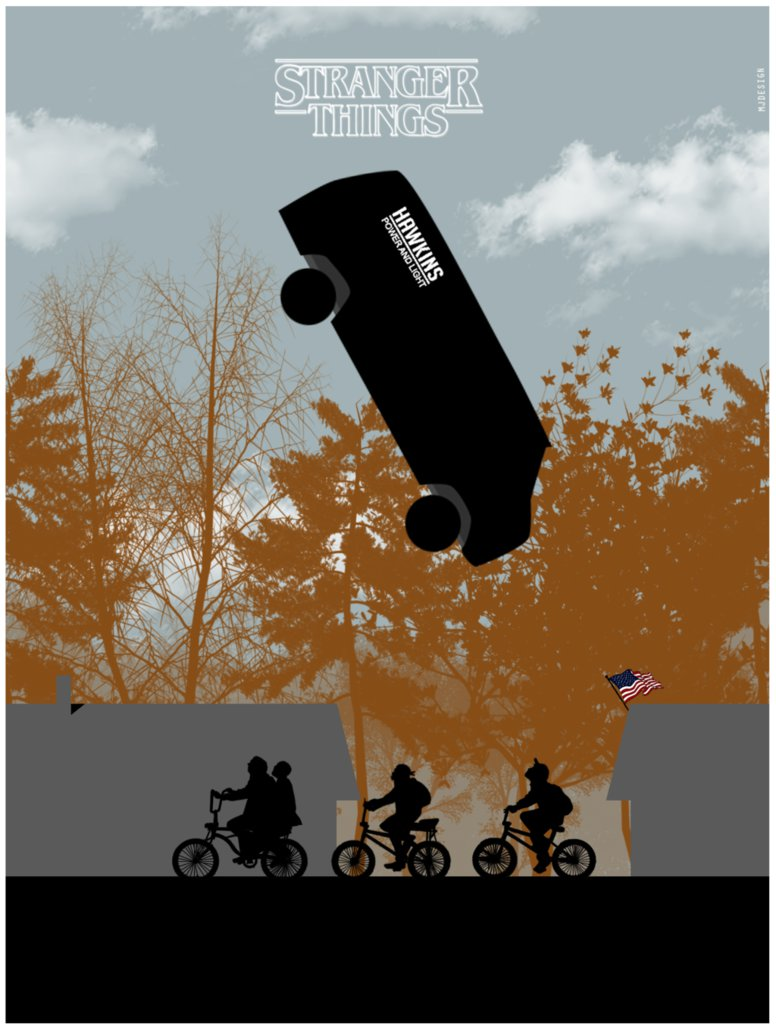776x1030 Stranger Things Poster Minimal By Mjd360