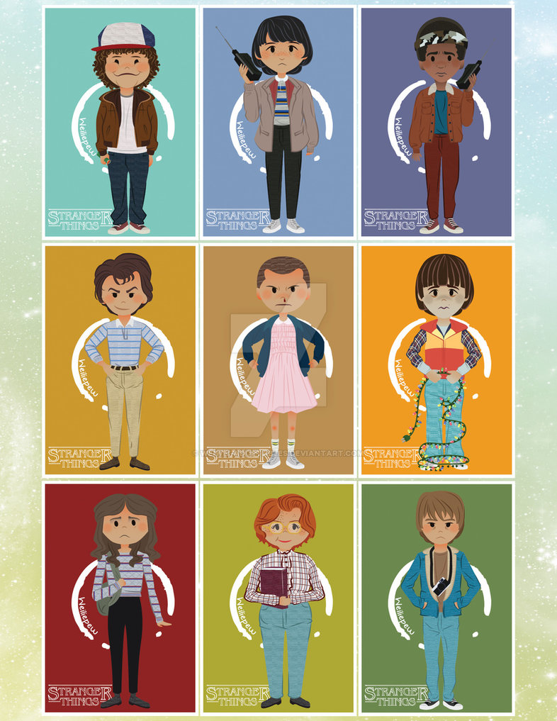 786x1017 Stranger Things Prints And Stickers! By Weiwei Adoptables On