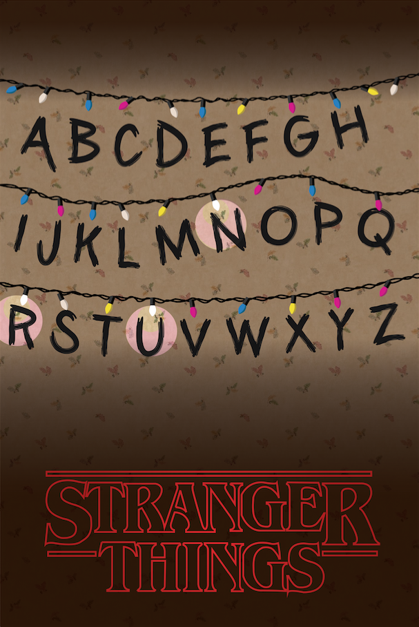 607x908 Stranger Things By Decoechoes