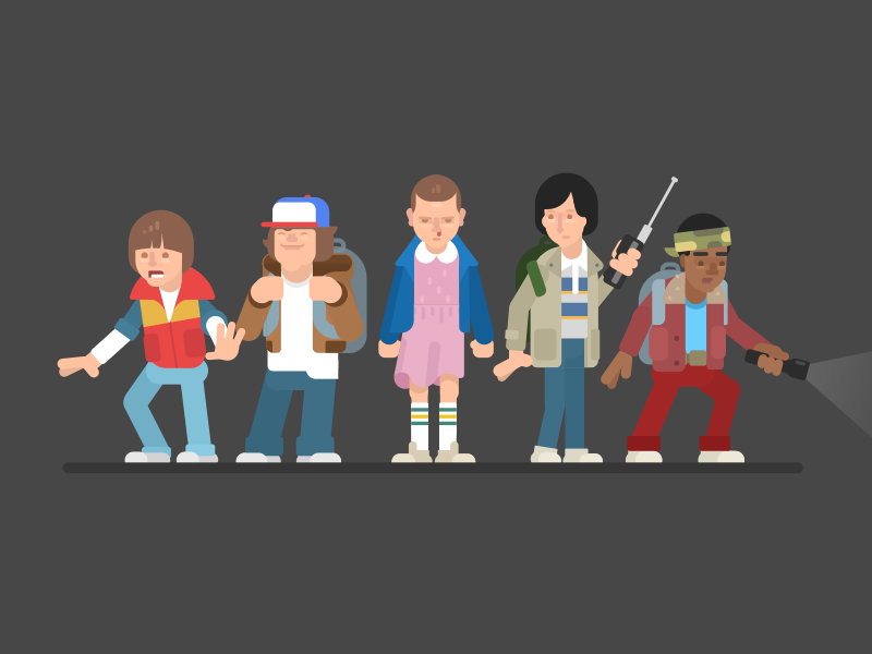 800x600 Stranger Things By Gregory Hartman