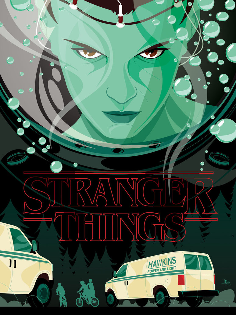 774x1032 Stranger Things By Mikemahle