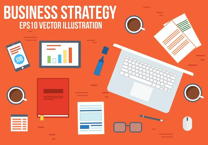 700x490 Free Business Strategy Vector