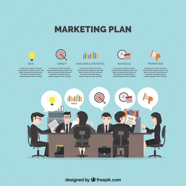 626x626 Background With Businesspeople Planning A Marketing Strategy