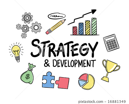 450x364 Strategy Development Concept Vector