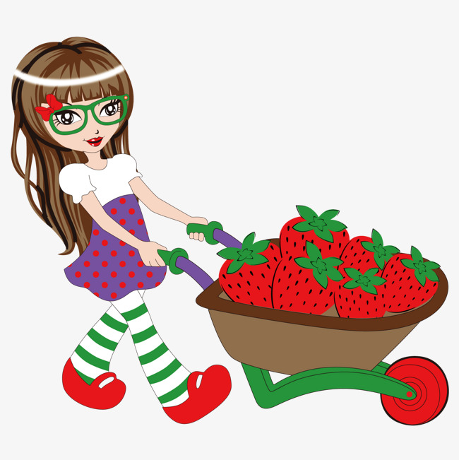 650x651 Strawberry Shortcake, Strawberry Vector, Lovely Girl Png And
