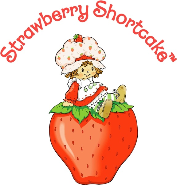 576x600 Strawberry Shortcake Free Vector In Encapsulated Postscript Eps