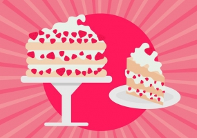 285x200 Strawberry Shortcake Pattern Free Vector Graphic Art Free Download