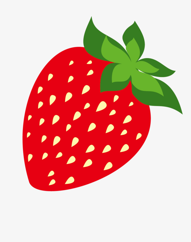650x824 Strawberry Vector, Ripe Strawberries, Green Fruit Png And Vector