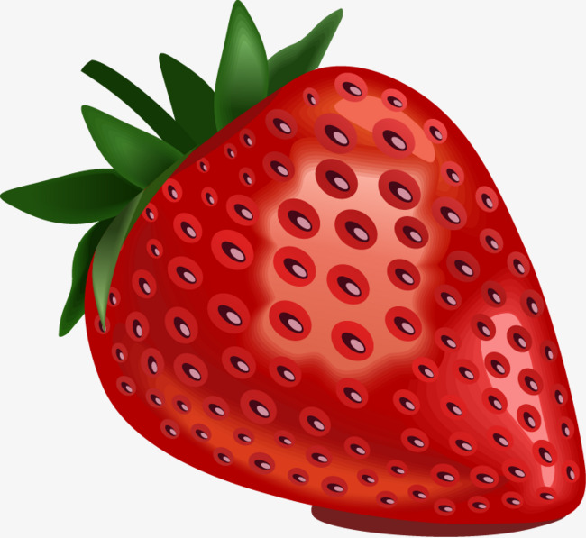 650x597 Strawberries Png Vector Material, Strawberry, Vector Material
