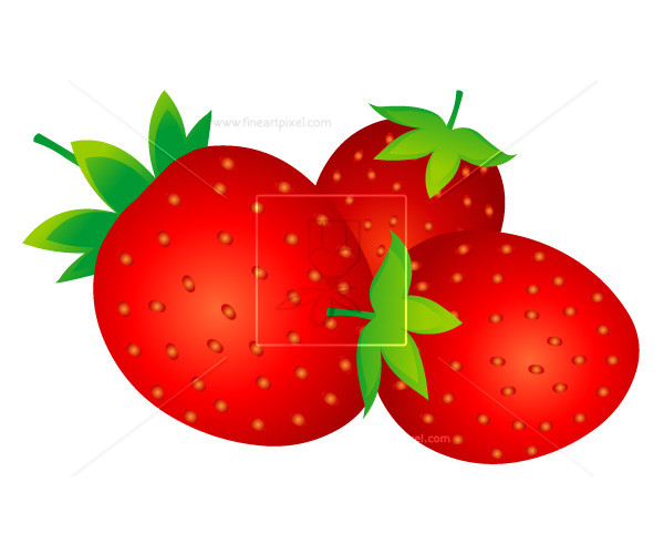 600x500 Strawberry Vector Free Vectors, Illustrations, Graphics, Clipart