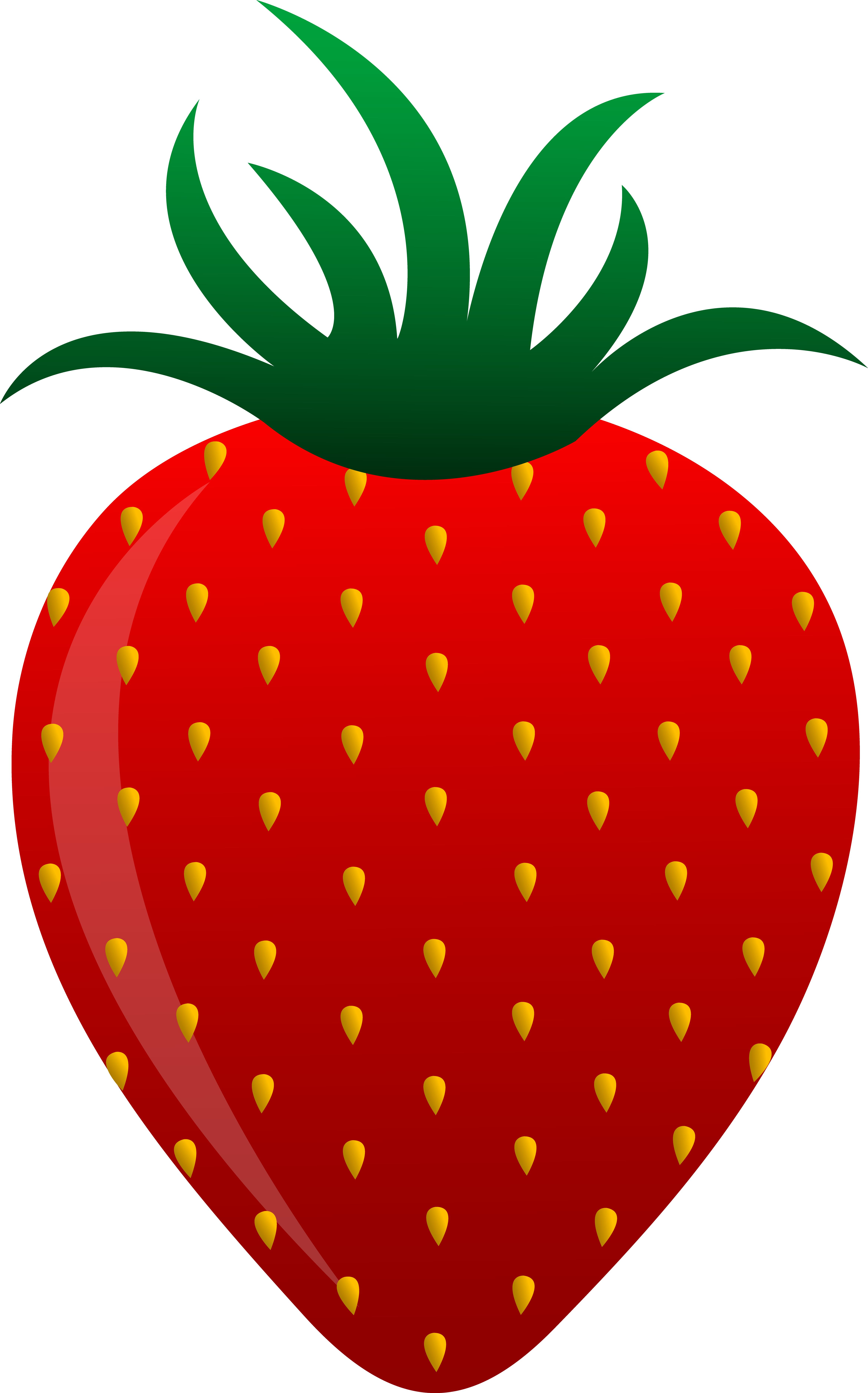 4681x7510 Collection Of Free Strawberry Vector Simple. Download On Ubisafe